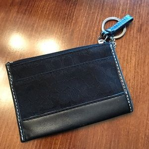Gently used Coach ID and coin purse